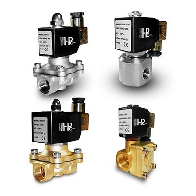 Universal NC solenoid valves