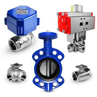 Valves and controlled fittings