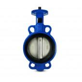 Butterfly valve, throttle DN40 - stainless steel