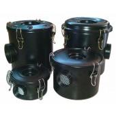 Air filter with housing for vortex air pump 1 1/2 inch