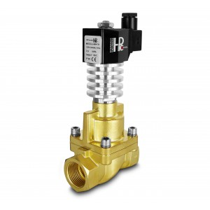 Solenoid valve to steam and high temp. RHT25 DN25 300C 1 inch