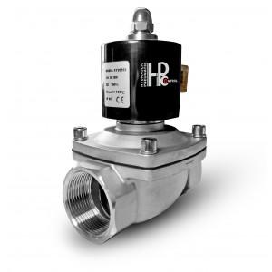 Solenoid valve 2N40 DN40 1 1/2 inch stainless steel SS304