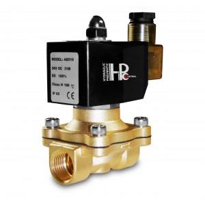 Solenoid valve 2N15 1/2 inch FPM Viton +150C