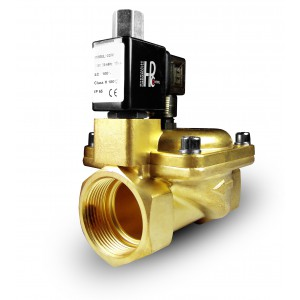 Solenoid valve 2K40 open NO 1 1/2 inch 230V or 12V 24V