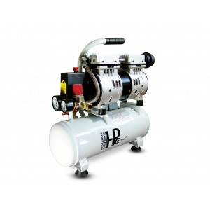 Silent oil-free dental compressor 550W 9l