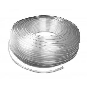 Polyurethane pneumatic hose PU 8/5 mm 1m transp.