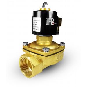 Solenoid valve open 2N50 NO DN50 2 inches 230V 24V 12V
