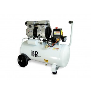 Silent oil-free dental compressor 750W 24l