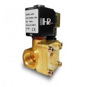 Solenoid valve 2K15 1/2 inch 230V or 12V 24V