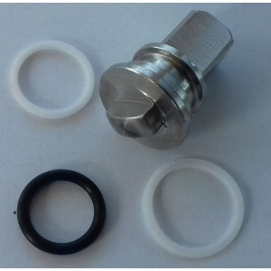 Repair kit for high pressure 3-way ball valve 1/4 inch ss304 HB3
