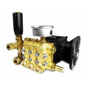 Pressure pump WS15 for washing with accessories 15 l/min, max 250bar equivalent CAT350