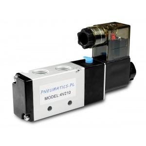 Solenoid valve to pneumatic cylinders 4V210 5/2 1/4 230V 12V 24V