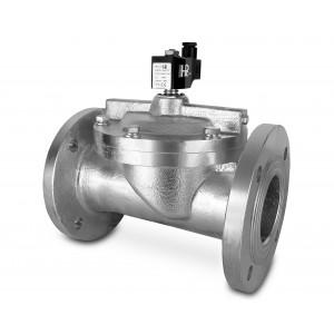 Flanged solenoid valve DF65-NO DN65