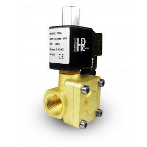 Solenoid valve 2K25 open NO 1 inch 230V or 12V 24V