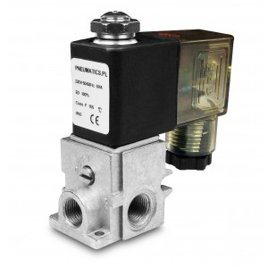 Solenoid valve R23 1/8 2 or 3-way combined into groups
