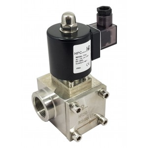 High pressure solenoid valve HP250 150bar