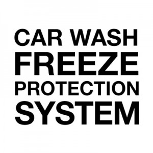 Antifreeze protection system for wash