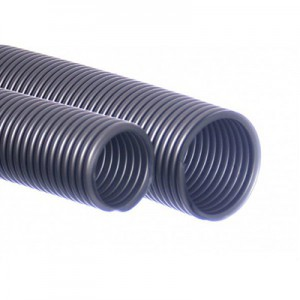 Vacuum cleaner hose 38/40 mm silver 5m EVA