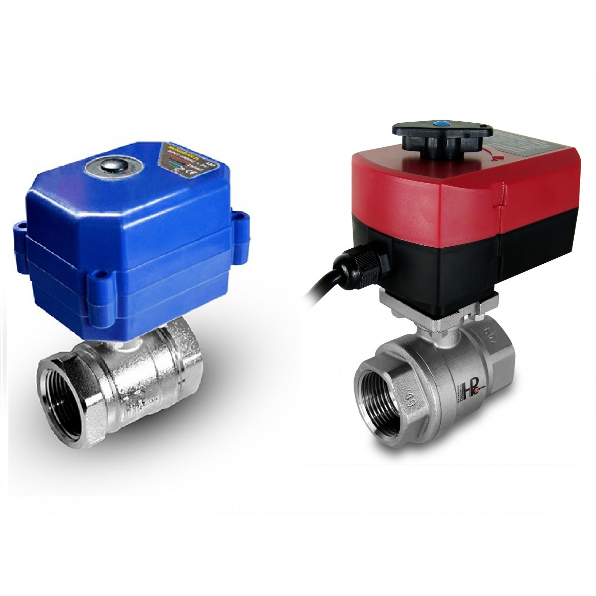 Ball valve 1/2 inch stainless steel with electric actuator A80 or A82