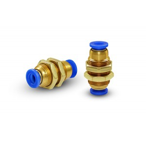 Bulkhead connector hose 8mm thread M16 PM08