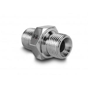 Nipple hydraulic pressure 1/4 - 1/4 inch