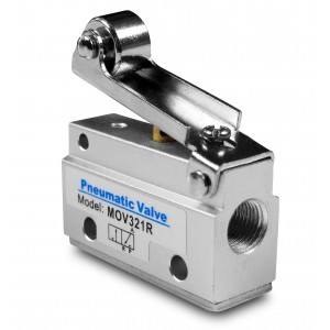 Manual valve 3/2 MOV321R 1/8 inch actuators