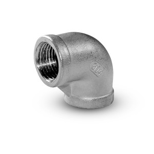Stainless steel knee internal thread 3/8 inch