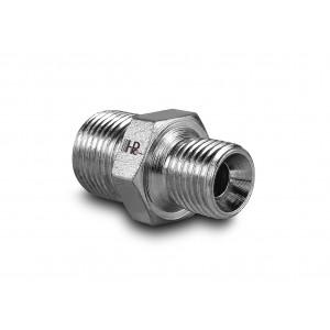 Nipple hydraulic pressure 1/4 - 3/8 inch