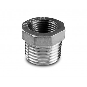 Reduction stainless steel 1/2 - 3/8 inch