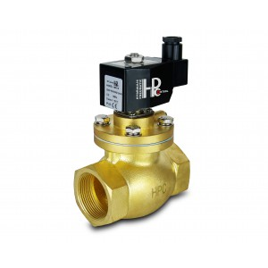 Solenoid valve to steam and high temp. open LH40-NO DN40 200C 1,5 inch