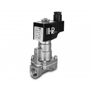 Solenoid valve to steam and high temp. RH15-SS DN15 200C 1/2 inch stainless steel SS304