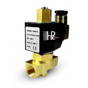 Solenoid valve open 2N10 NO 3/8 inch 0-10 bar 230V 24V 12V 42V 110V