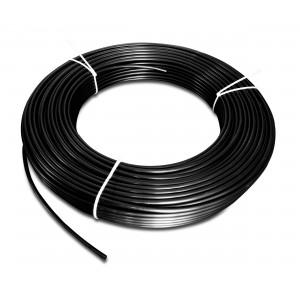 Polyamide pneumatic hose PA Tekalan 6/4 mm 1m black