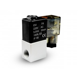 Solenoid valve to air and co2 2V08 1/4 230V 24V 12V