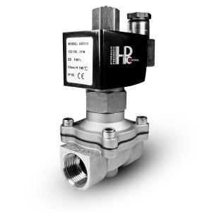 Solenoid valve open 2N15 NO 1/2 inch stainless steel SS304 230V or 12V, 24V, 48V