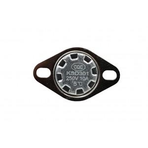 Bimetal thermostat, NC temperature sensor 5 ℃ 10A 230VAC type KSD301
