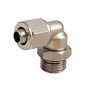 Rapid fittings for tube 6/4 with thread elbow 1/8 inch RPL 6/4-G01