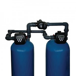 Industrial double softener 6.8 m3 / h